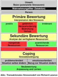 Transaktionales Stressmodell von Richard Lazarus